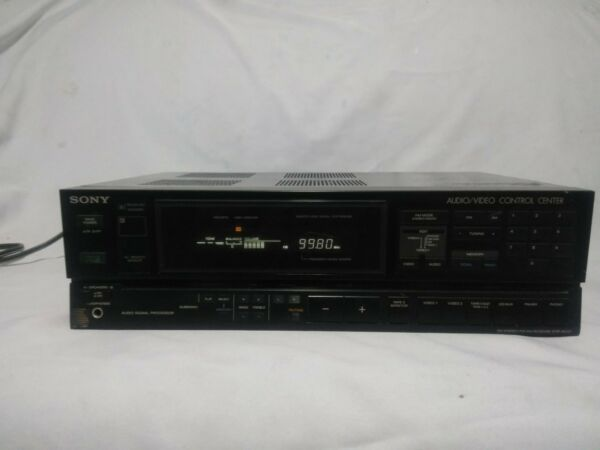 Adaptable Sony Str-av57 Stereo Am/fm Receiver Audio Video Control Center Kortingen Sale