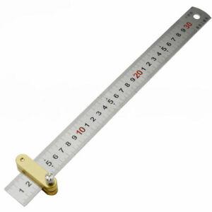 12-034-300mm-Acero-Inoxidable-Regla-Regla-de-Metal-con-localizador-regla-metrica