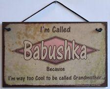 Babushka s Sign Russian Russia Slavic Retro Grandma Vintage Best Mom Fun GIft #1