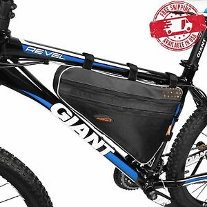 Image Is Loading Ibera Bike Front Top Triangle Frame Bag
