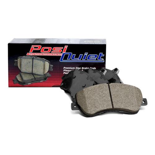 Centric Front Posi-Quiet Ceramic Brake Pads 1Set For 2002 Mitsubishi Lancer