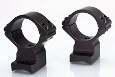 Talley Scope Mounts - 1 inch Remington 700 Low Blk Anodized 930700