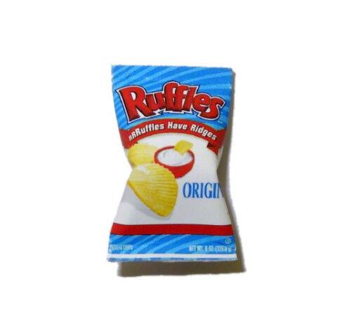 Dollhouse Miniature Potato Chips Bag 1:12 Scale Snack Food