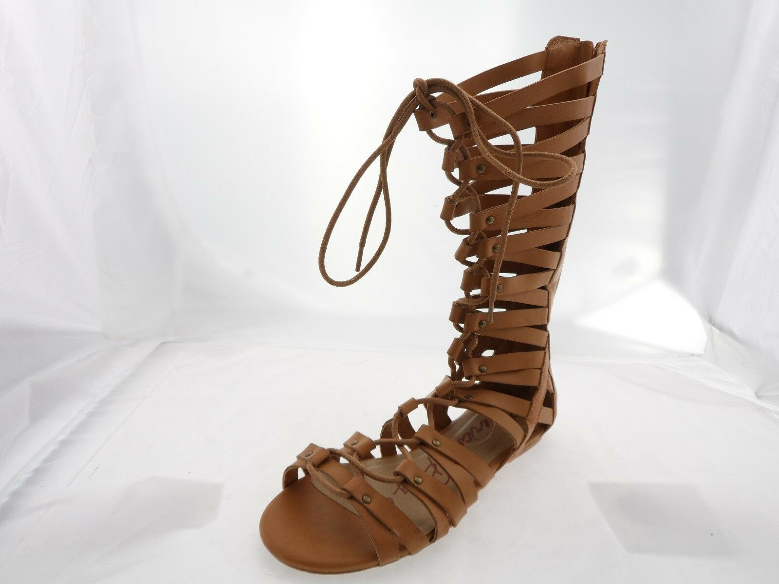American Rag Maya Cie Women Gladiator Sandal, Burnt Tan, Size 8.5 US