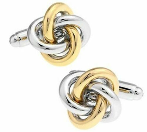 Free shipping Black Cufflinks for men fashion knot design top quality copper hot