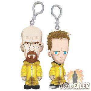 Breaing-Bad-Walter-White-Jesse-Pinkman-Pluesch-Figur-Anhaenger-Keychain-Mezco