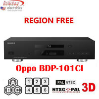 Oppo Bdt-101ci Multi Region-free Dvd Blu-ray Player - 3d Support - 4k Upscaling