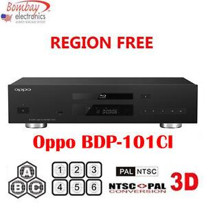 oppo bdt 101ci multi region free dvd blu ray player   3d