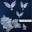 Christmas Holly Leaf Die Cuts Sets of 30 in assorted styles