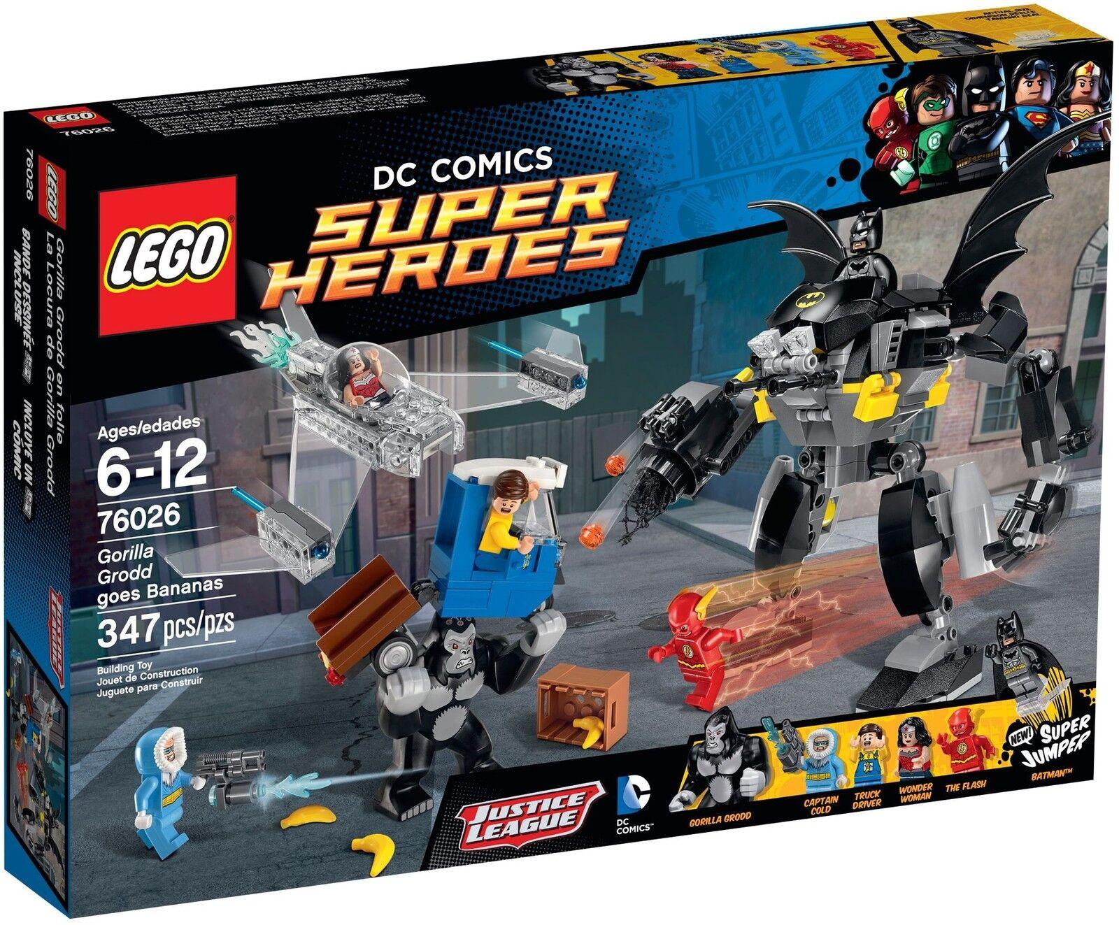 LEGO DC super Heroes - 76026 gorille grodds crise de rage avec Batman-NEUF & OVP