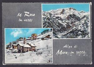 Ufficio Postale Via Monte Rosa Novara : Vercelli scopello 66 valsesia mera monte rosa vedutine cartolina