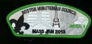 BOSTON-MINUTEMAN-GRN-BDR-MASS-JAM-2013-20-Sets-made-SA-89-CSP-SLV3405