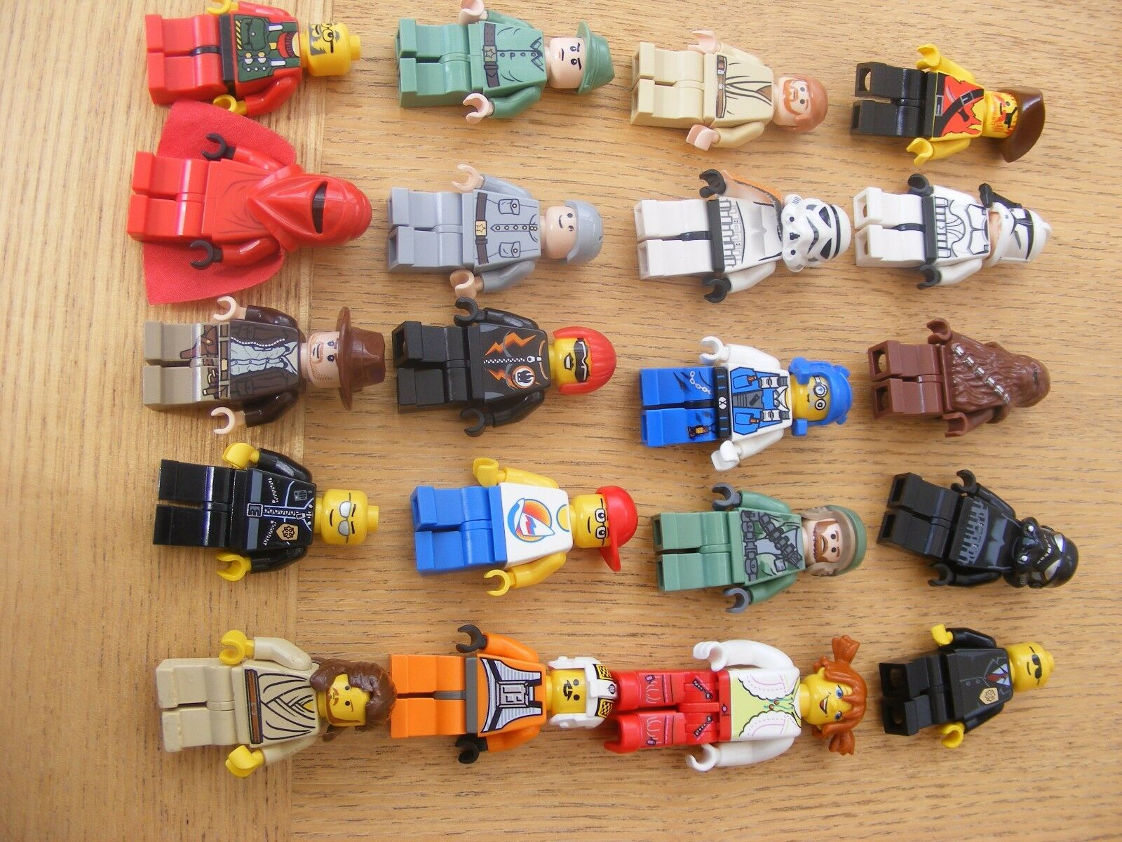 LEGO mixed figure bundle inc Star Wars (bundle 2) +some incomplete spares ref476