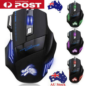 7-Buttons-5500-DPI-Backlight-Wired-USB-Ergonomic-Optical-Gaming-Mice-PC-Laptop