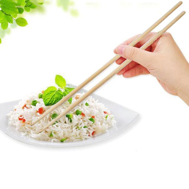 Useful 1 Pair Super long chopsticks deep fried pot Chinese Bamboo~