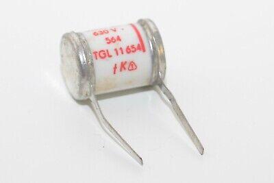NOS 0.047 µF // 630 V Vintage Koweg Sikatrop Paper Capacitor Typ TGL116 1960s