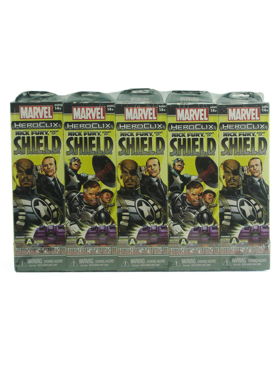 12 Boosters Agents Of Shield Marvel New 2 Marvel Heroclix Nick Fury Open Brick