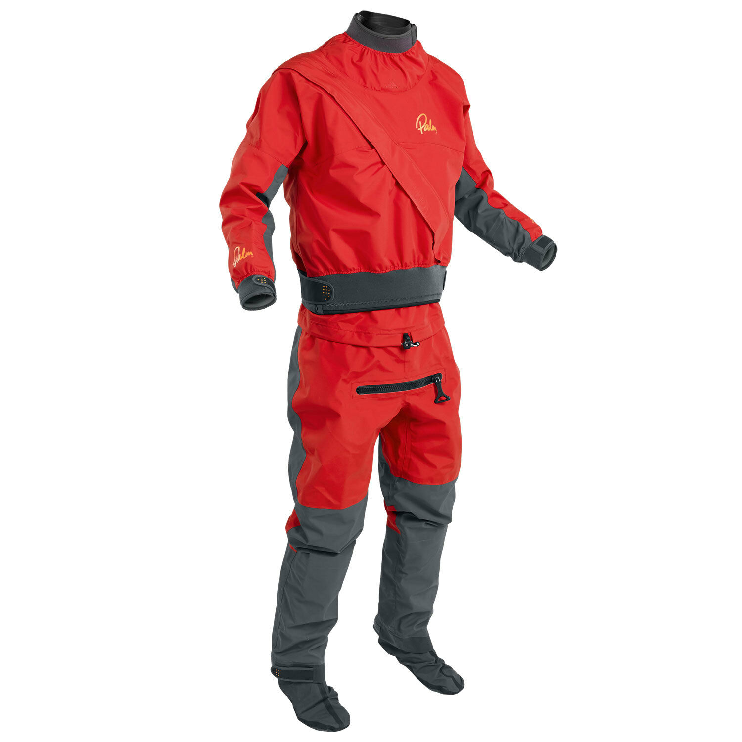 Palm Cascade Drysuit - Kayaking - Flame  Jet Grey  the cheapest