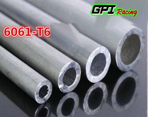 "6061 ALUMINUM TUBE PIPE ROUND 3/""ODx2.83/""ID x12/"" x 0.0787/"" Wall// 76x72x300MM"