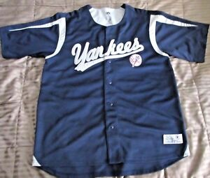 d214fad3e76 Image is loading NEW-YORK-YANKEES-MLB-BUTTON-DOWN-DYNASTY-STITCHED-
