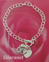 Quinceanera Bracelet Silver 8 - 15 Anos In Gift Box