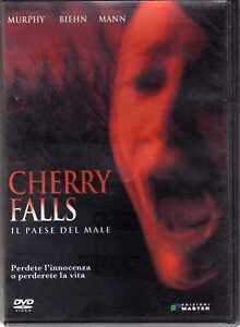 CHERRY-FALLS-IL-PAESE-DEL-MALE-Brittany-Murphy-BIEHN-Mann-DVD-Geoffrey-Wright