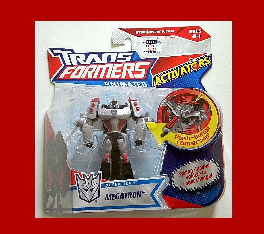 Transformers animated aktivierer decepticon megatron mint-on-card von hasbro.