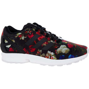 ff7b2b0b9 ADIDAS ORIGINALS ZX FLUX Women s Floral Trainers Sneakers sizes UK 4 ...