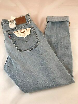 7a733040 BNWT Levi's 501S Womens Skinny Button Fly Ripped Jeans. Size 30