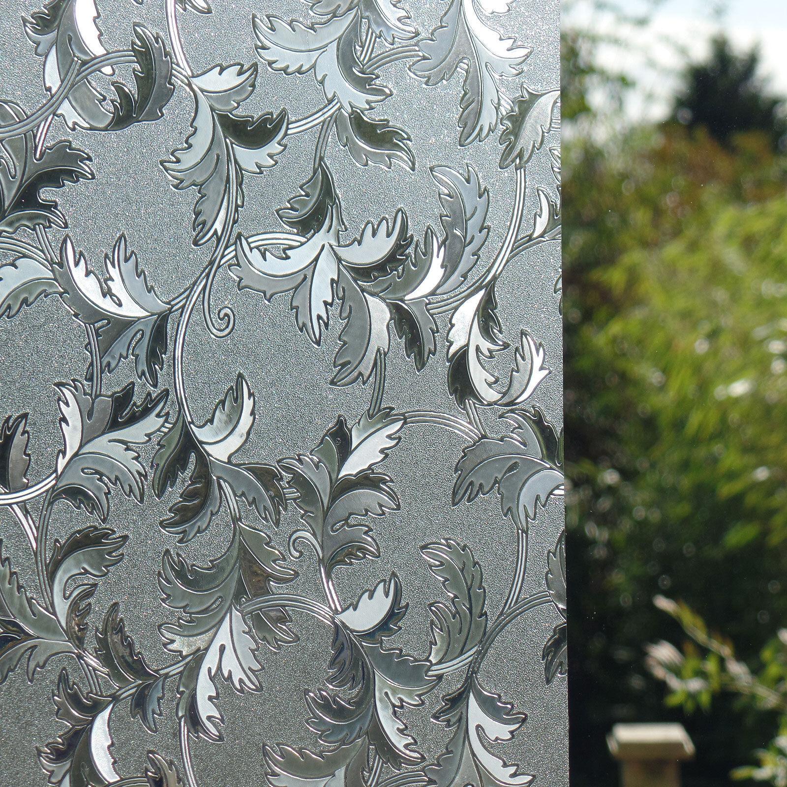 Dépoli verre dépoli film de fenêtre statique statique statique papier décoratif vinyle la vie privée s'accrocher | New Style,En Ligne  9fba79