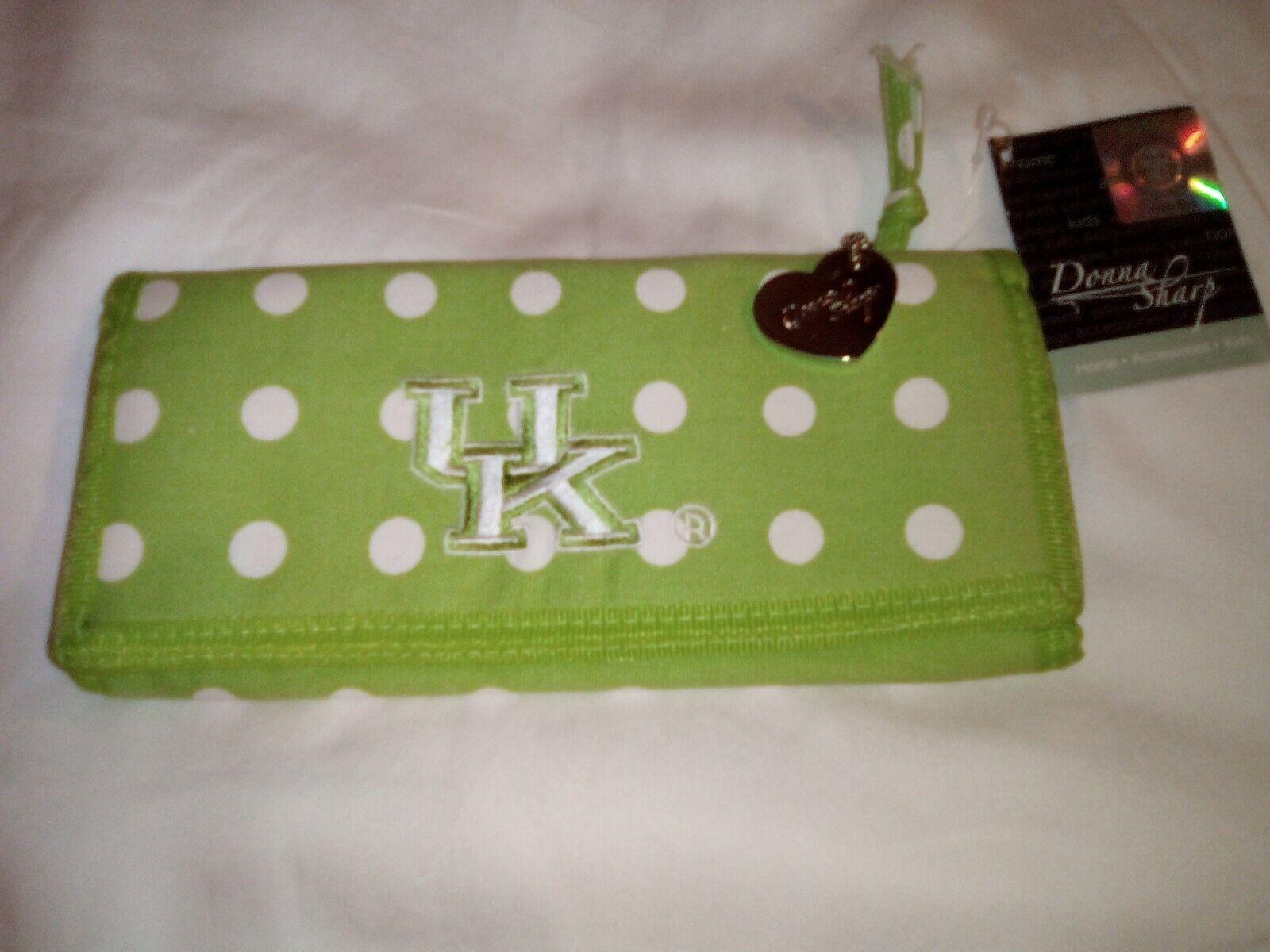 Collegiate University Of Kentucky Wallet New