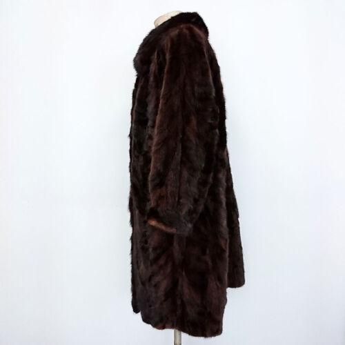 52 Visone Di Vintage Cappotto Art Tg Donna 7971 In 54 Pelliccia 0aw1Bq