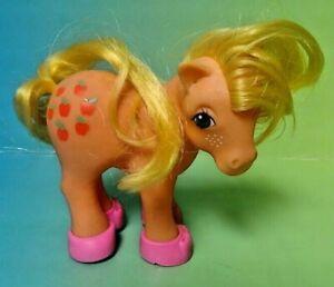 Applejack-Shoes-My-Little-Pony-G1-1983-MLP-Ponies-Vintage-Hasbro-Hong-Kong