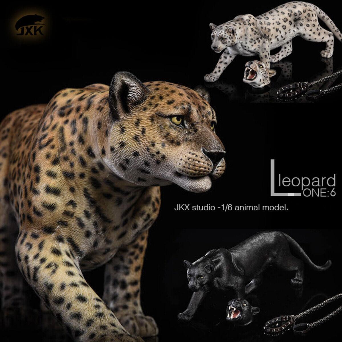 JxK 1 6 Snow Leopard  Panther cifra Animal Decor modellololo Collector GK Pre-order  Spedizione gratuita al 100%