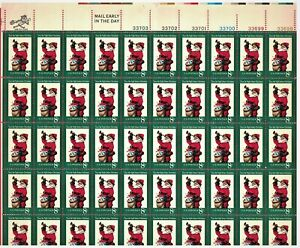 SCOTT-1472-THE-NIGHT-BEFORE-CHRISTMAS-PANE-OF-50-X-8-Cents-1972-STAMPS-MNH