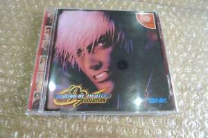 Sega-DreamCast-THE-KING-OF-FIGHTERS-99-EVOLUTION-Japan-DC-F-S