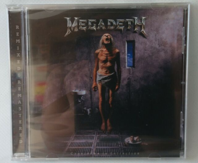 MEGADETH - COUNTDOWN TO EXTINCTION - CD 2004 - REMASTERED - REISSUE - NEW SEALED