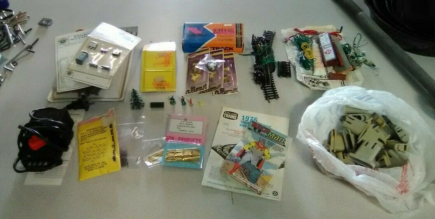 Vintage Train Parts and Accessories Lot