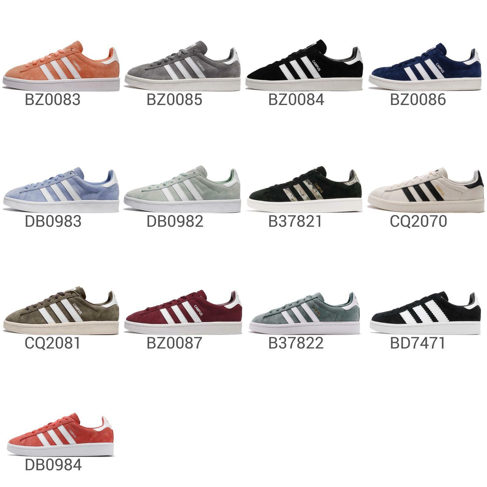 Adidas Originals Campus Mens   Womens Casual shoes Classic Retro Sneakers Pick 1