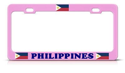 I Love Haiti Chome Metal License Plate Frame Tag Holder
