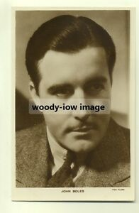 su127-Film-Actor-John-Boles-postcard