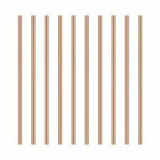 3mm Copper Round Rod Favordrory 10pcs Copper Round Rods Lathe Bar Stock 3mm
