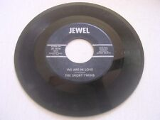 We Are in Love~Love is Just a Game to You  by The Short Twins 45 RPM on Jewel