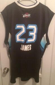 sale retailer 8f6c2 20fc0 Details about LeBron James 2009 NBA All Star Game Jersey Men 2XL Adidas Vtg  King East Cavs Hwc
