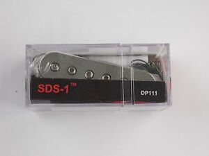 DiMarzio SDS-1 Single Coil Pick-up W/Chrome Plated Cover DP 111 | eBay
