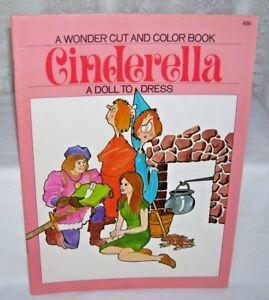 Cinderella-Wonder-Book-Paper-Dolls-and-Color-Book-1971