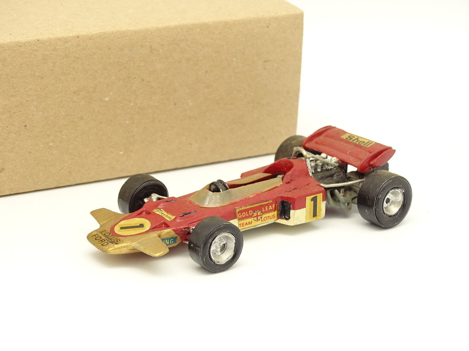 Kit Metal Montado 1 43 - F1 Lotus 49B Ford oro Leaf N°1 Hill