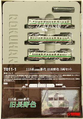 Fornito Rokuhan T011-1 Z Scala Jr Serie 115 Suburban Treno Old Nagano Colore 3 Macchine Gamma Completa Di Articoli