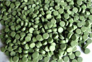 Plateaux d'alimentation Terre 9mm Vert 10% Spiruline 2kg