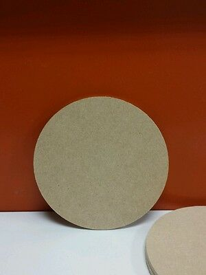 250 x Wooden Mdf Circles 4mm thick 10cm   ideal for coasters
